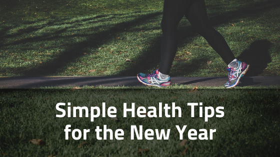 Simple Health Tips for the New Year